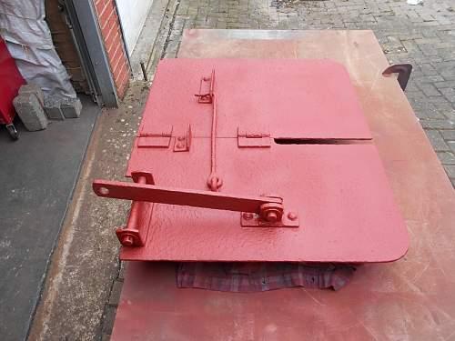 2cm Flak 38 Gunners Shield