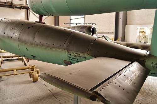 German V1 Flugbombe