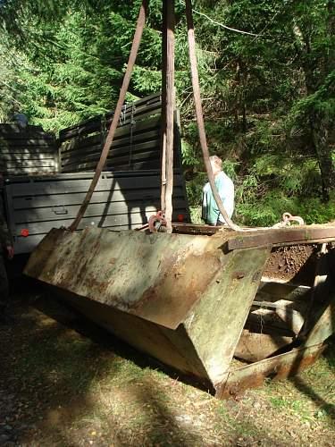 Sdkfz 251 D body found