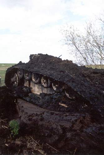German Stug found in Pskov area