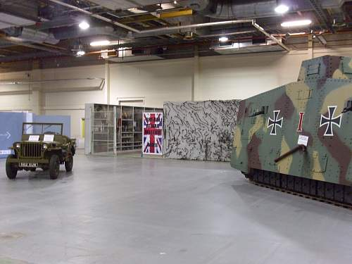 A7V WW1 Panzer Replica in U.K.