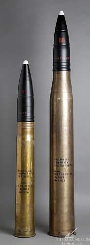 8,8cm KwK 36 comparison to 8,8cm Flak 18 cartridge