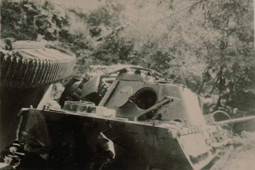 Sig 33 auf Pzkpfw 38 Grille recovered
