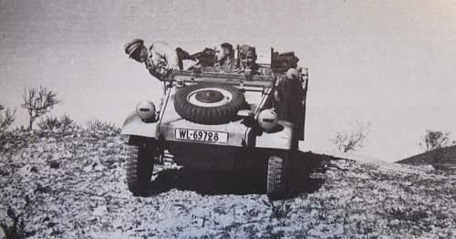 Luftwaffe Kubelwagen