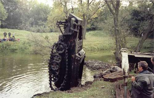 German SdKfz 250 recovered in Russia