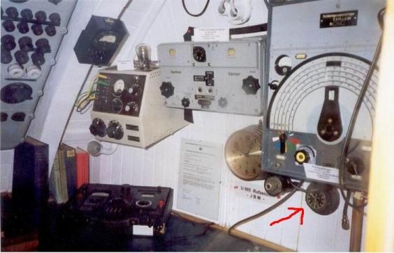 U-Boat clock from Wilhelmshaven....