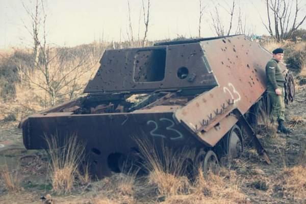 German Sdffz 251 Halftrack.