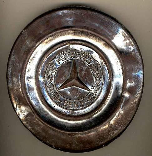 Mercedes Hubcap.Stalingrad.