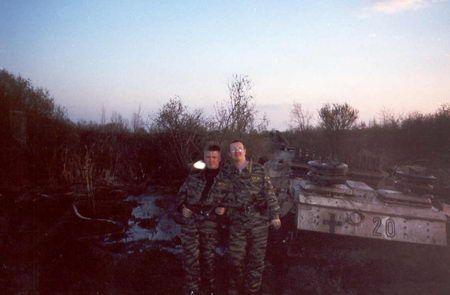 Stug found at Pskov.MP40 photo!