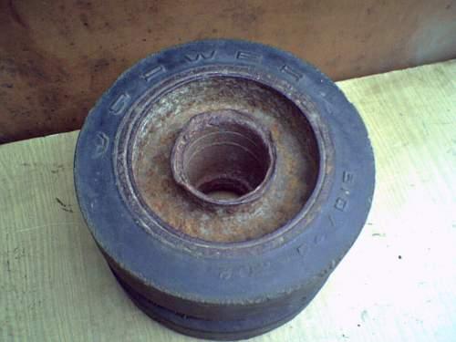Tank wheel?