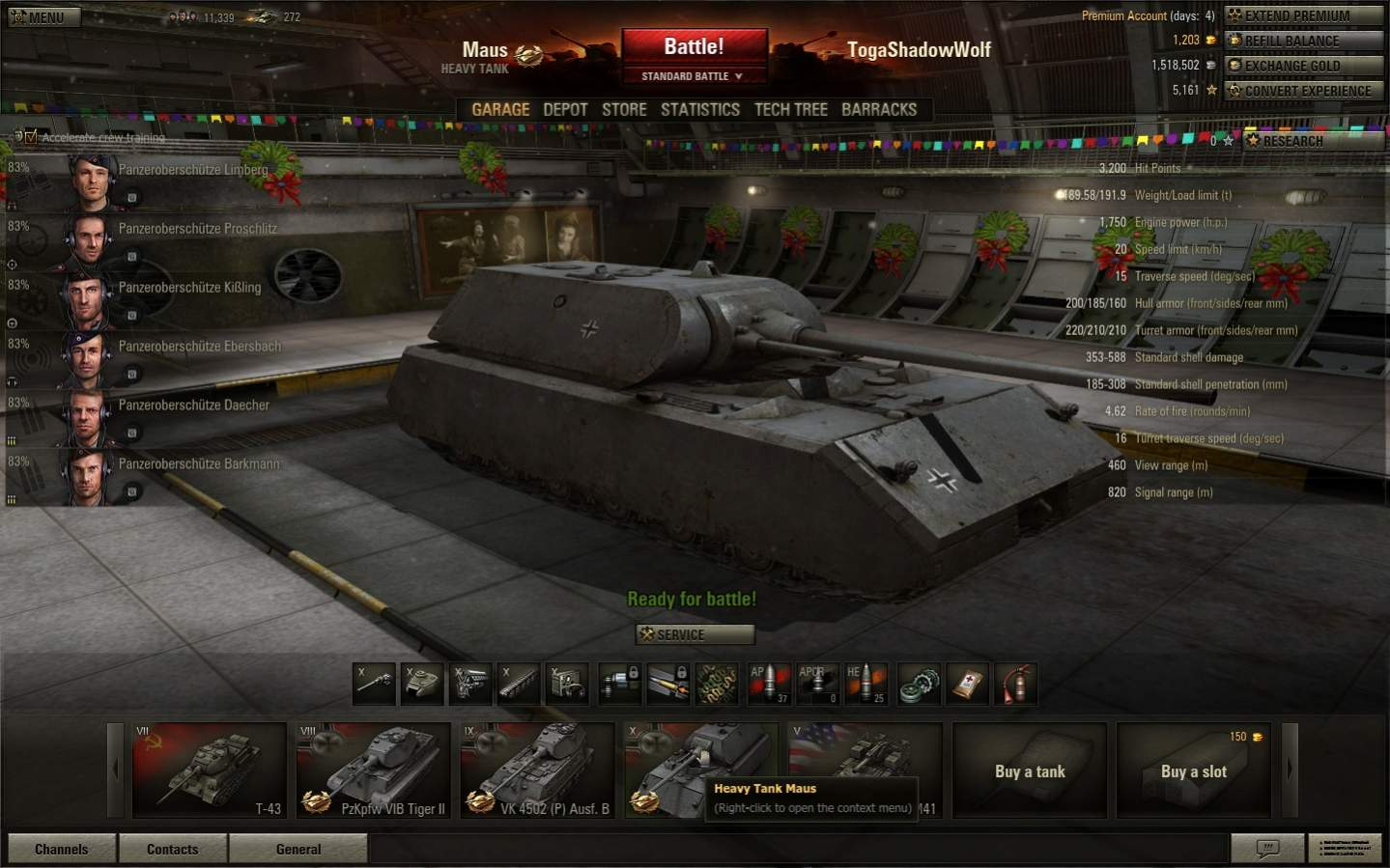 any wot (world of tanks) player around ? - page 11
