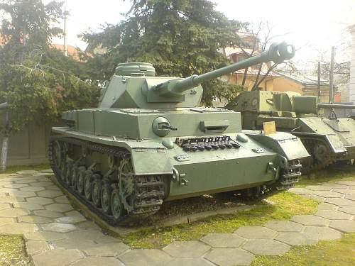Romanian Panzer IV
