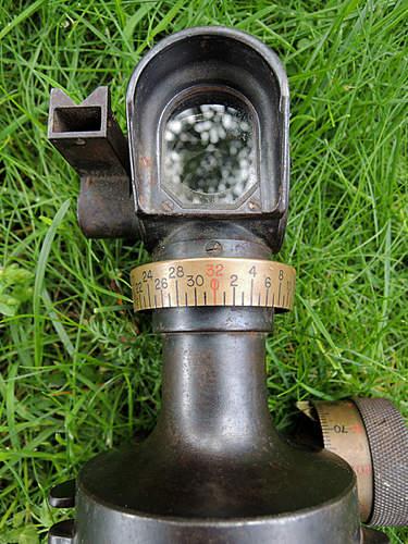 Artillery optic  Goerz BERLIN