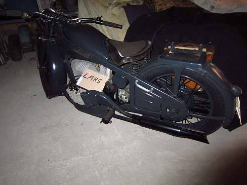 Wehrmacht Motor Cycles