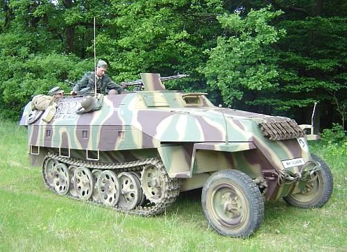 Czech OT810 converted to Sdkfz 251D