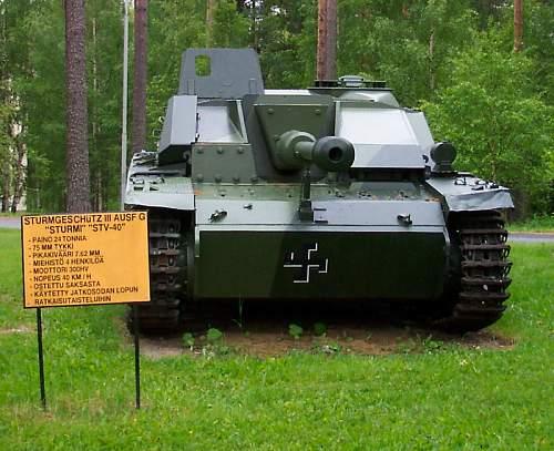 Tanks at Mikkeli Army camp in Finland