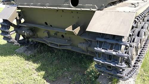 Walking among the tanks