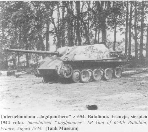 Falaise Jagdpanther Unit Marking