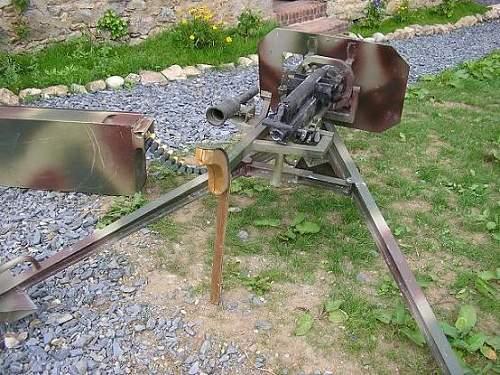 MG 151 erdkampf laffete