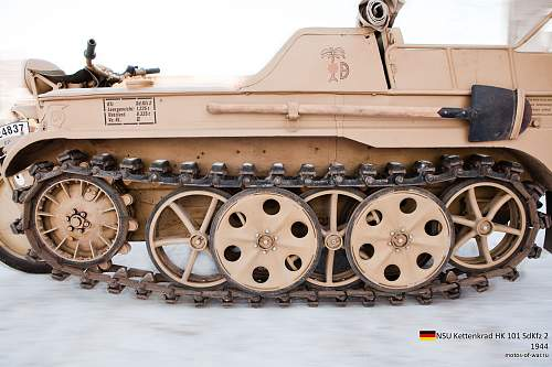 Sd. Kfz. 251 Wheels