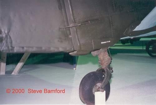 Me 109 / FW 190 tail wheel?