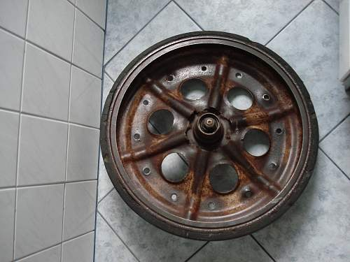 Sd. Kfz. 251 Wheels