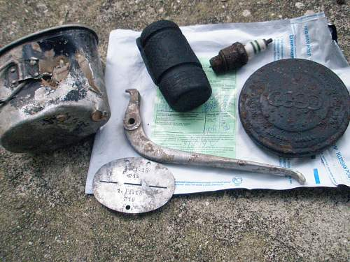 Question: Unknown German Motorcycle Parts