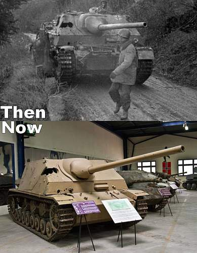 Jagdpanzer IV/70 (A) Then and Now
