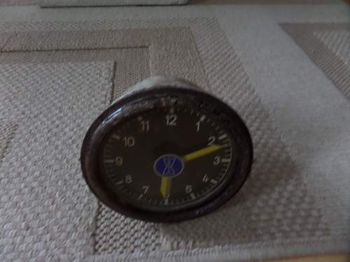 German ww2 clock ? help needed
