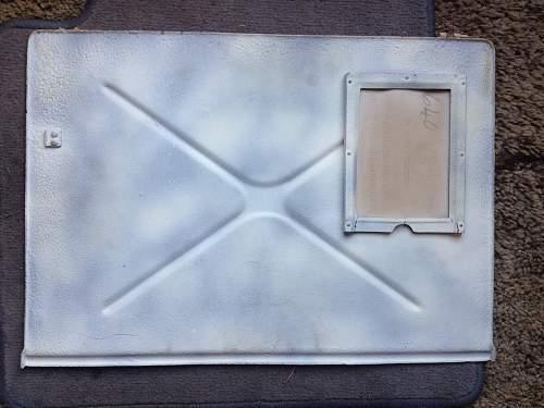 Door/hatch panel