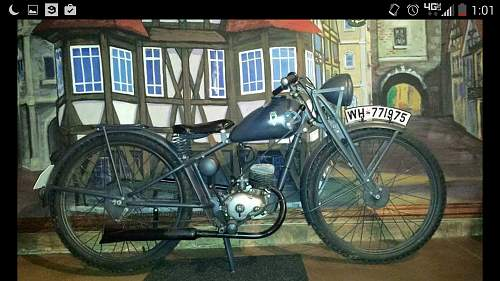 New Pick Up!!! 1939 DKW Rt 100 3PS
