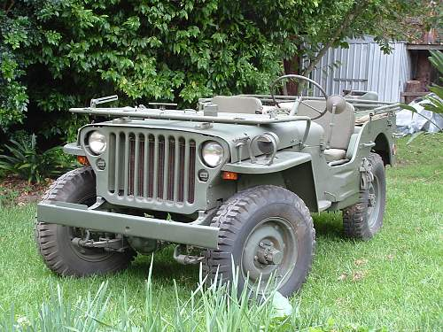 1945 Jeep Willy's