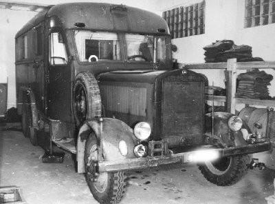 German lorry body