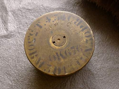 Mystery French (?) LANCE BOMBES tags, MINIMAX tag, and mystery shell/ashtray? UNIQUE FINDS!!!