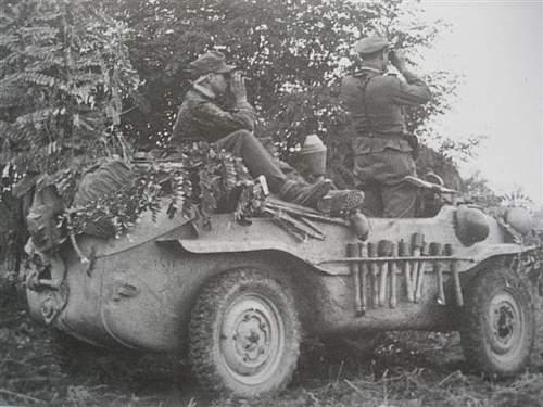 mix of german vehicles