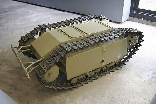 Searching a Goliath SdKfz.302