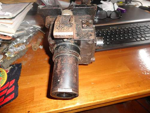 """Unknown German """"Panzer"""" Periscope or Sighting Scope 2"""