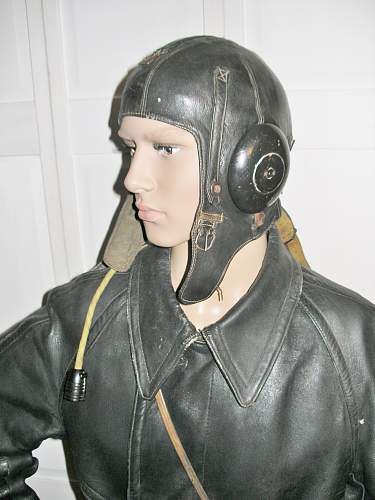 Russian WW2 Period Flight Helmets