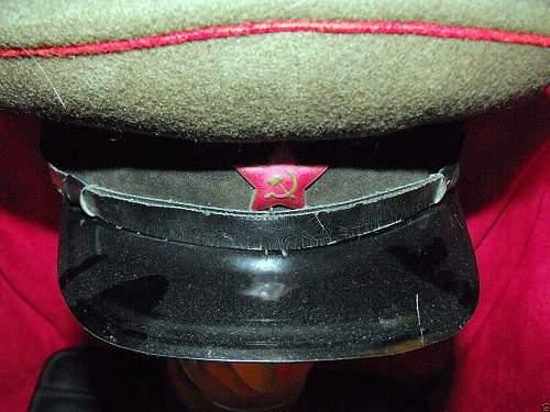 Opinions needed on this WWII Soviet artillery visor...