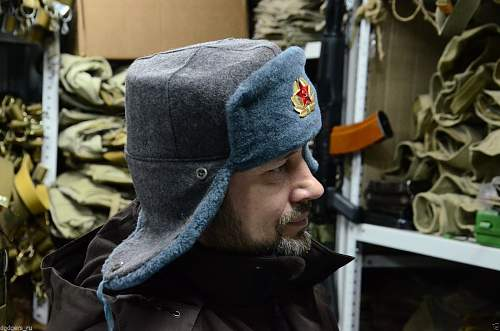 Is this soviet ushanka real or not?