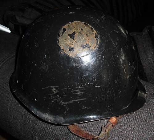 Messed with helmet. Ssch 39?