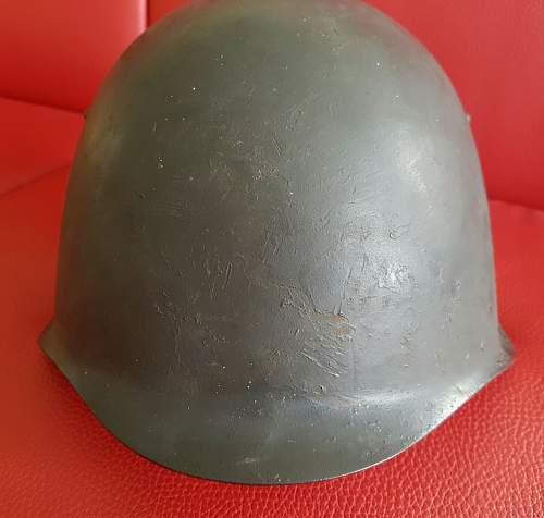 Helmet: Russian? Ssh39? WW II?