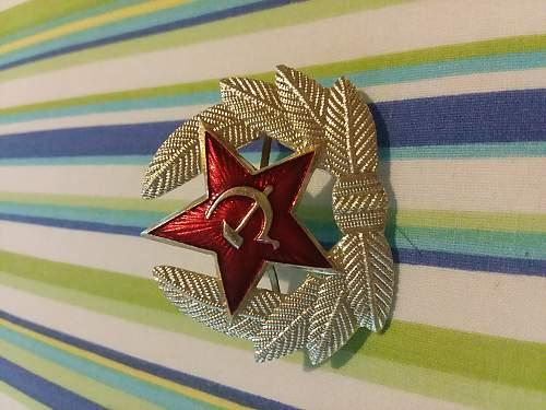 Late-USSR Ushanka Authentication