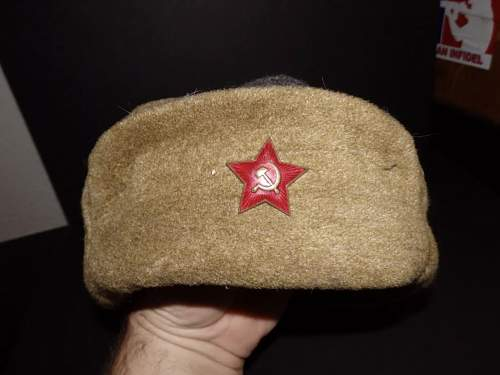 Postwar Ushanka or wartime?