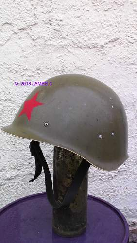 """British """"OPFOR"""" Opposing Forces Helmet"""