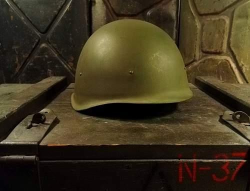 M 40 rusian helmet wartime?
