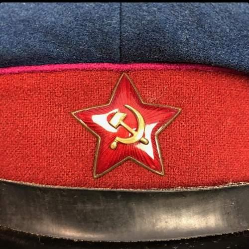 NKVD visor, original or repro?