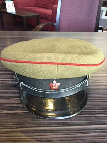 Artillery Officers M35 cap