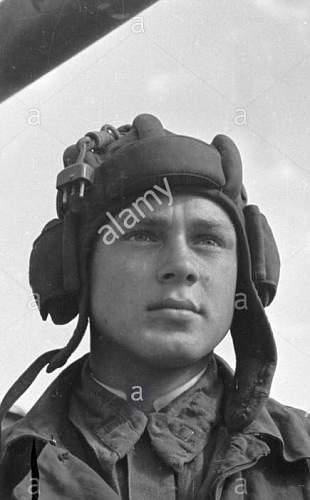 WW2 Soviet Tank Helmet Headset