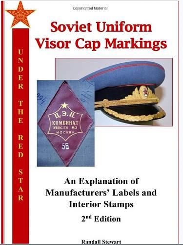 New book on Soviet Visor Caps (furazhki) Now Available